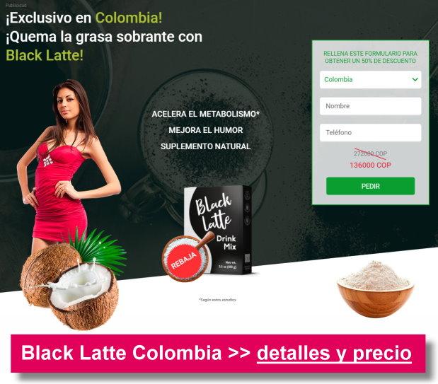 black latte colombia precio